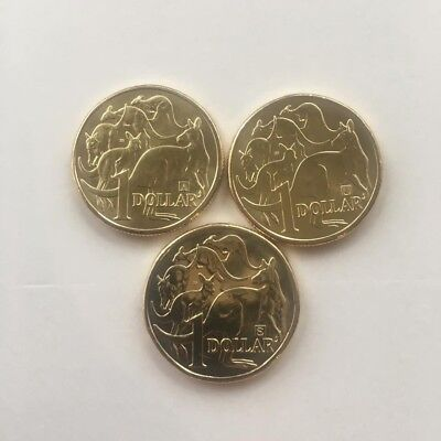 2019 RAM $1 dollar Coin With 35 Mintmark A/U/S set of 3 Coins UNC Free Post