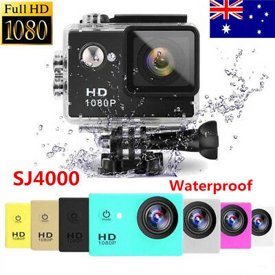 "SJ4000 1080P Sports DV Action Camera Full HD Waterproof Camcorder 2.0"" 12MP"