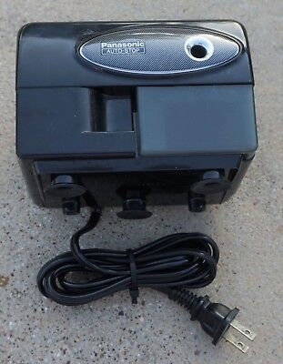 Panasonic KP-310 Auto-Stop Electric Pencil Sharpener Black Color (Used)