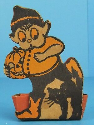 Antique Halloween Palmer Cox Brownie Candy Container