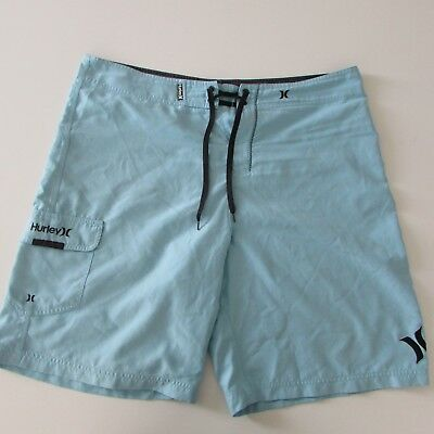Hurley Board Shorts Mens Teal Size W38