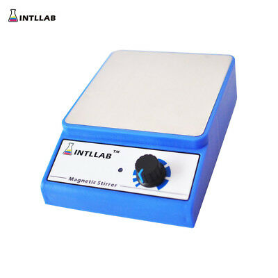 INTLLAB Laboratory Magnetic Stirrer Mixer with Stir Bar Up to 3000rpm Max. N8C8