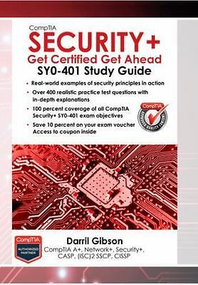 CompTIA Security+: Get Certified Get Ahead: SY0-401 Study Guide - DIGITAL 2018