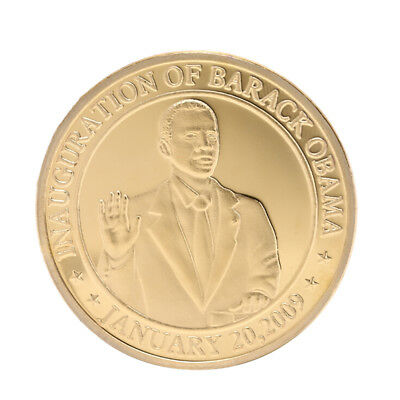 U.S President Obama White House Commemorative Coin Art Collection Non-currencyIN