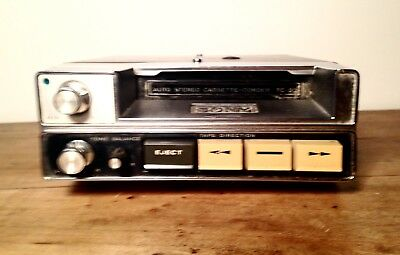 VINTAGE US CAR  FORD MUSTANG : Tc-20 Sony Corps Tape Corder