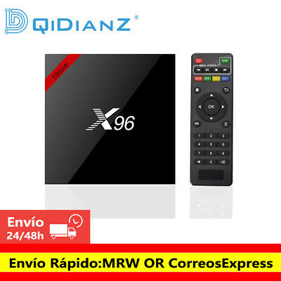 New X96 S905W Android 9.0 Smart TV BOX Quad core Reproductor multimedia TV CAJA