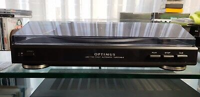 Optimus Fully Automatic Turntable - preamp NO/Off switch under turntable mat!