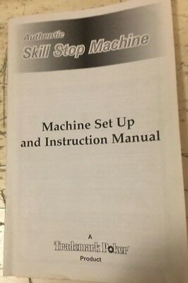 Pachislo Skill Stop Slot Machine Manual Great Information