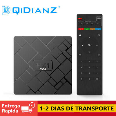 DQiDianZ HK1mini  Android 8.1 2GB+16GB Cuatro núcle RK3329 Smart TV BOX CAJA