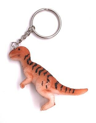 Various Dinosaur Dinos T-Rex Allosaurus Models Etc. Key Ring