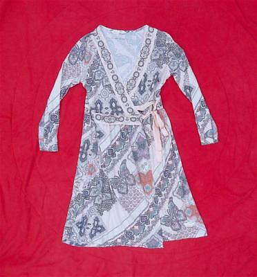 Odd Molly Bruch Time Wrap Dress 100% Organic Cotton Stunning Size 2 (M) Rrp £175