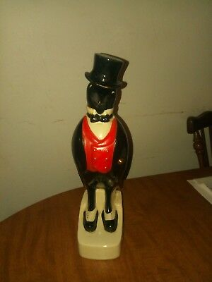Old Crow whiskey Decanter