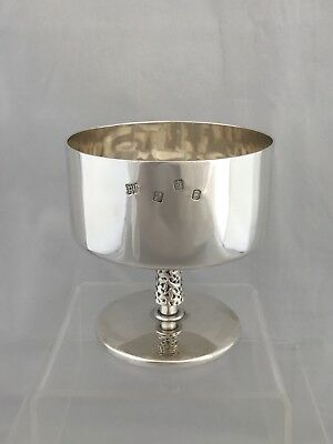 Solid IRISH Silver Footed Bowl 1970 Dublin STUNNING AND HEAVY