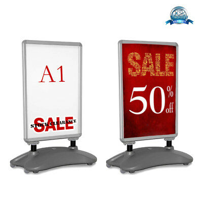 A1 Waterbase Pavement Poster Sign Advertising A-Board Shop Display Stand Outdoor
