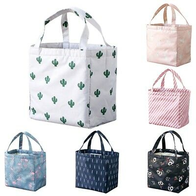 Fashion Insulated Thermal Cooler Bento Lunch Box Tote Picnic Storage Pouch Bag