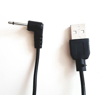 ANDVARI Power cable Lead for Wand Massagers Fits Love Magic, USB to DC 2.5mm