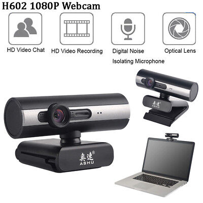 Webcam Video Camera Full HD 1080P USB 2MP with Microphone for PC Desktop Laptop