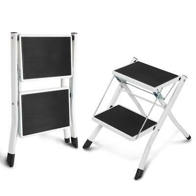 Portable Anti- Slip Little Giant 2 Tread Safety Step Ladder With Tool Tray