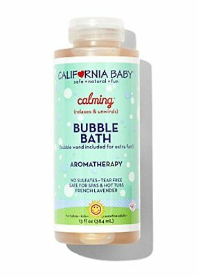 California Baby Bubble Bath, Calming, 13 oz Bottle