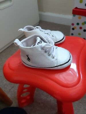 Baby Boy Polo Pumps