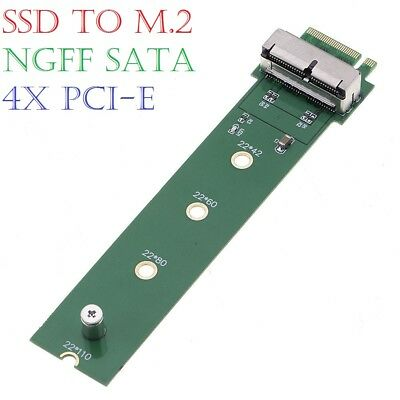 2013/14/15 MacBook Air Pro 12+16 Pins SSD to M.2 (NGFF) PCI-e Adapter Converter