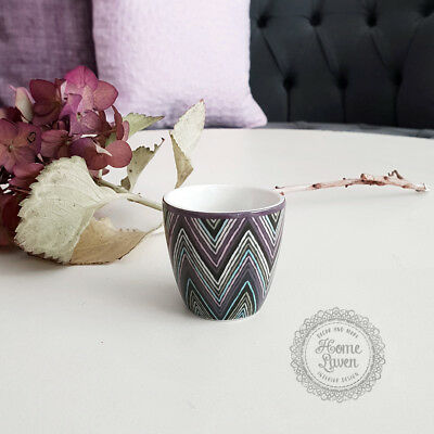 Greengate Eierbecher Egg Cup Zindy dark grey Geschirr Vintage Landhausstil