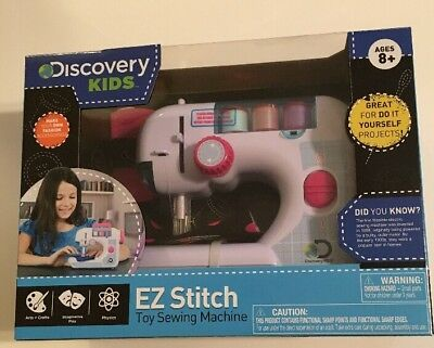 DISCOVERY KIDS FIRST Sewing Machine Chain Stitch Thread Battery Custom Discovery Kids Sewing Machine