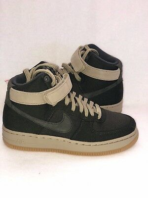 cheap for discount 89c5b 8c749 NIKE WOMEN S AIR FORCE 1 HI UT SHOES Sequoia Olive AJ2775 300 Size 5.5