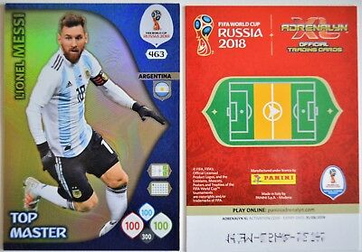 Panini Adrenalyn XL World Cup 2018 Russia/ TOP MASTER - Nr. 463: L. MESSI/ ARG