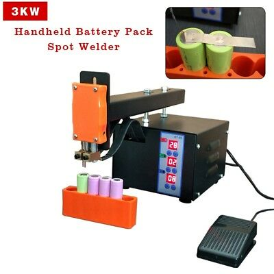 3KW Handheld Battery Pack Spot Welder 18650 Battery Pack Welding Machine 110V
