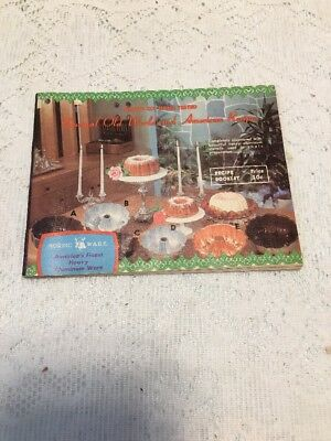 Vintage Nordic Ware Unusual Old World and American Recipes Cookbook Booklet