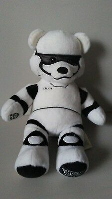 Build A Bear Workshop Star Wars Storm Trooper Bear Stuffed Plush