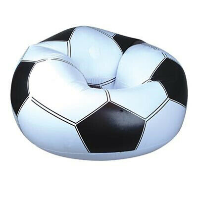 Miraculous Inflatable Soccer Ball Chair Beanless Bag Chair By Bestway Ibusinesslaw Wood Chair Design Ideas Ibusinesslaworg