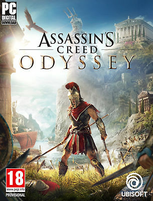 Assassin's Creed Odyssey - Pc - Gioco Completo Italiano Originale