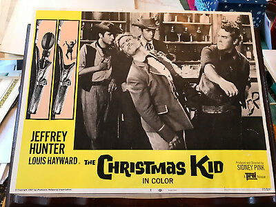 The Christmas Kid 1967 Producers western lobby card Jeffrey Hunter filmed in Spa