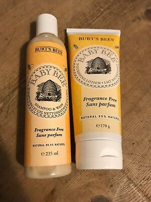 Baby Bees Natural Shampoo And Lotion Nourishing Kind Children Sensitive