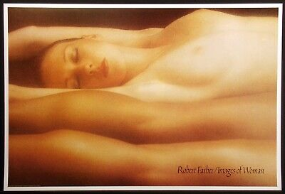 """Robert Farber """"Jill"""" from Images of Woman series Vintage Poster 1982 Make Offer!"""