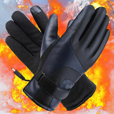Electric Battery Powered Touchscreen Winter Hand Warm Heated Gloves
