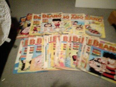 Beano comics job lot