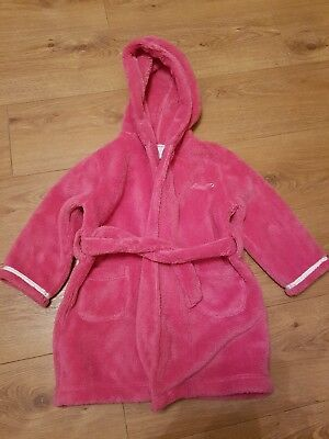 Girls junior J dressing gown age 2-3 years