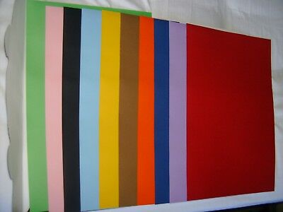 2 x 10 Paper Colour for Kids School Arts & Crafts A3 size 185gsm High quality