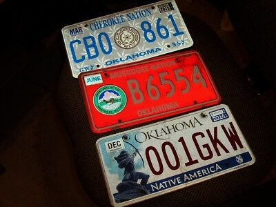 3  Tag Oklahoma   Nation Indian Ratrod Chevy. Ford Bbc Lowrider