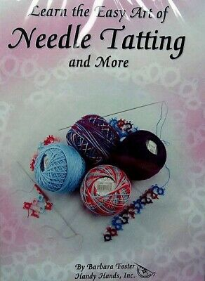Learn The Easy Art Of Needle Tatting & More DVD