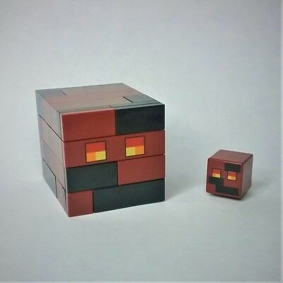 2 x LEGO MINECRAFT MAGMA CUBES FROM SET 21139