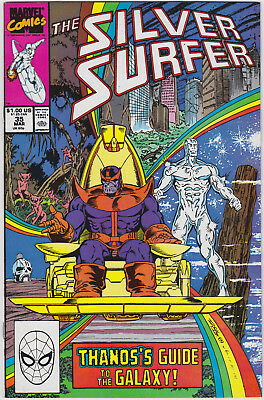 Silver Surfer   # 35       1990         NM