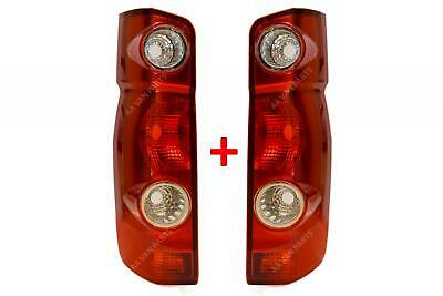 Vw Crafter Rear Tail Light Lamp Lens Set Left Right N/S O/S 2006 - 2017