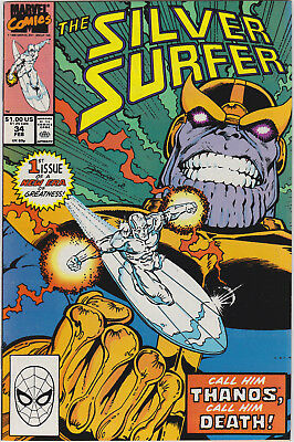 Silver Surfer   # 34       1990         NM