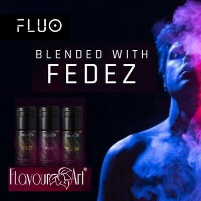 Aroma Concentrato Flavourart Fluo Blended with Fedez - Gold