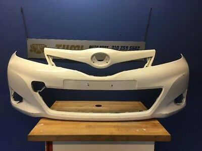 New Front Primed Bumper Cover Fits Toyota Yaris CE//L//LE Models TO1000381