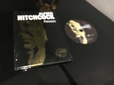 Alfred Hitchcock Dvd + Libro Psicosis Gold Edition